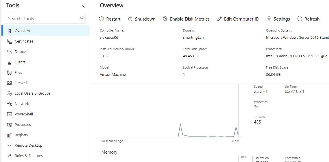 Server Management auf dem nächsten Level - Windows Admin Center