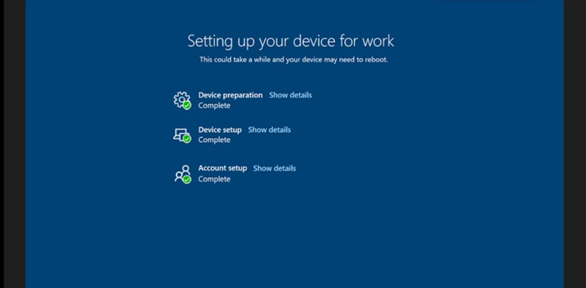 Zero Touch Deployment – mit den neuen AutoPilot Features jetzt auch für den Anwender