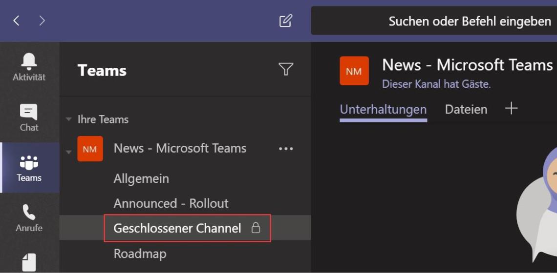 Sichern von Channels / Kanälen in Microsoft Teams – aber wie?