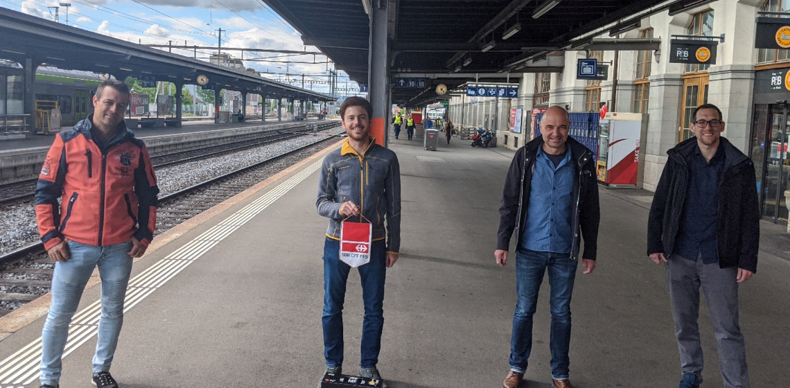 SmartIT Services AG unterstützt SBB AG in der Erneuerung ihrer digitalen Anzeiger auf den Bahnhöfen